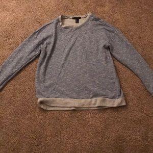light blue forever 21 sweater